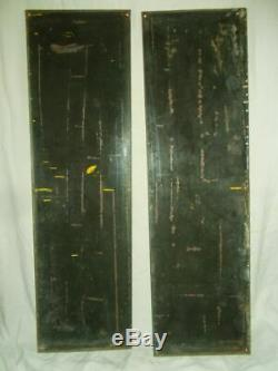 2 Anciennes Plaques Emaillees Energic 170 CM X 48 CM