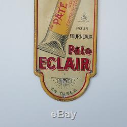 A3158 @ Rare Tole De Proprete Pate Eclair