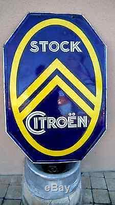 ANCIENNE PLAQUE EMAILLEE CITROEN