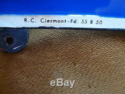 Ancienne Plaque Emaillee Michelin Bibendum. Vintage