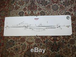 ANCIENNE PLAQUE EMAILLEE SNCf/GARE BIGNY CHER LIGNE BOURGES/MONTLUCON