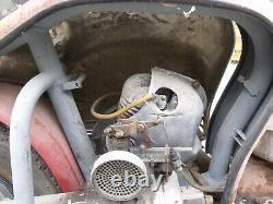 Ancien SCOOTER LAMBRETTA 125 LD 1953 AVEC C. G, garage, autos, motos, no émaillée