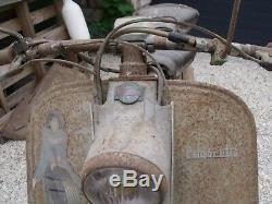 Ancien SCOOTER LAMBRETTA 125 LD 1953 C. G, garage, autos, motos, no émaillée