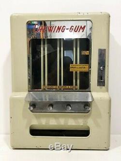 Ancien distributeur lumineux de chewing-gum des années 50's