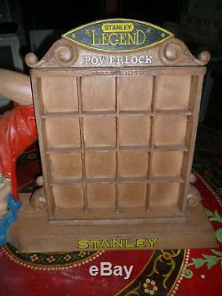 Ancien présentoir publicitaire Stanley