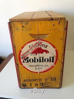 Ancienne Caisse Mobiloil