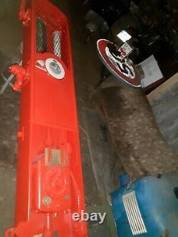 Ancienne GRANDE POMPE A ESSENCE 1930 CARBOX OZO SATAM, vintage, garage, no copie