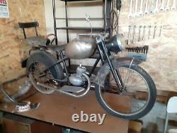 Ancienne MOTO DE MANEGE FONLUP ART FORAIN, garage, autos, motos, no émaillée