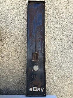 Ancienne Plaque Émaillée Thermomètre Potasse D Alsace