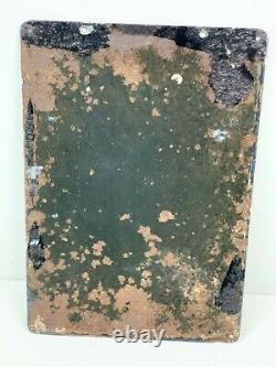 Ancienne Plaque LIEBIG émaillée 1920