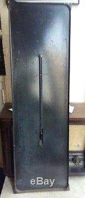 Ancienne Plaque émaillée Thermomètre MARTINI Apéritif Complet avec mercure