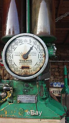 Ancienne Pompe à Essense THEMIS BP BOUTILLON Satam Automobilia BIDON Garage Loft
