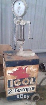 Ancienne mélangeur pompe a essence