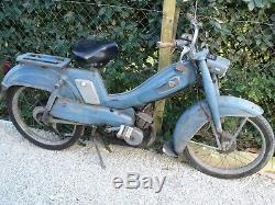 Ancienne mobylette MOTOBECANE AV 65 1960, garage, autos, motos, no émaillée