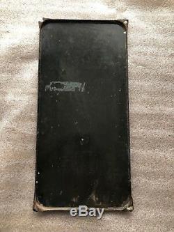 Ancienne plaque Émaillée NESCAFÉ Originale