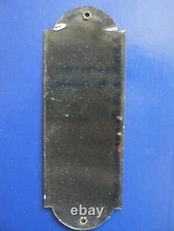 Ancienne plaque de propreté émaillée chicorée Williot