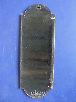 Ancienne plaque émaillé de propreté chicorée Williot
