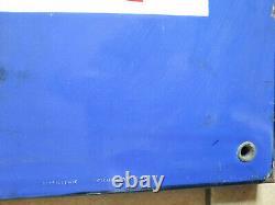 Ancienne plaque émaillée BOUILLON KUB cuisine restaurant bar E. A. S 96x96cm