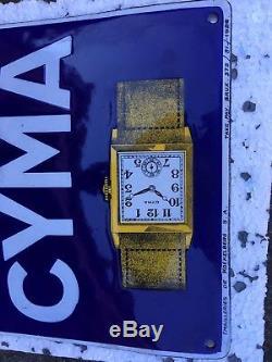 Ancienne plaque émaillée CYMA 1926