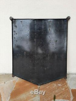 Ancienne plaque émaillée MICHELIN BIBENDUM émaillerie EAS 68x80cm