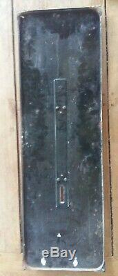 Ancienne plaque émaillée Thermomètre MARTINI APERITIF Bar Bistrot 31x96cm 1962