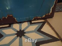 Ancienne plaque emaillee continental  ancien jouet garage bidon d huile affiche