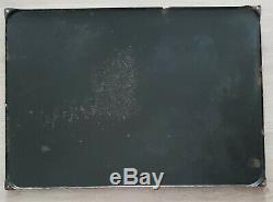 Ancienne plaque émaillée publicitaire MARTINI