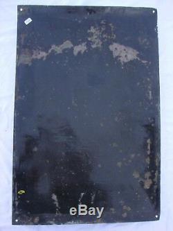 Ancienne plaque émaillée très bombée années 20, MALT KNEIPP, santé économie