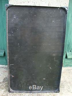 Ancienne plaque émaillée Joseph LARZUL, PLONEOUR LANVERN, Finistère
