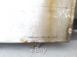 Ancienne plaque émaillée Martini Foremail 1963
