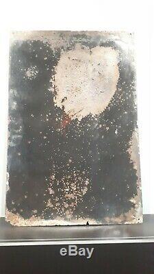 Ancienne rare plaque émaillée bombée kneipp (menier banania kub poule au pot)