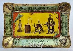 Appareil pour Eau Gazeuse Cendrier en tôle litho / Bruxelles Belgique 1900