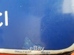 BELLE PLAQUE EMAILLEE MARGARINE ASTRA EAS 80cm sur 40cm