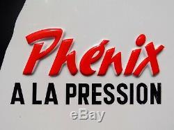 BIERE PHENIX. Marseille-Plaque ancienne