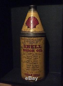 Bidon huile shell