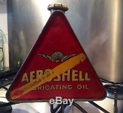 Bidon huile triangle aeroshell