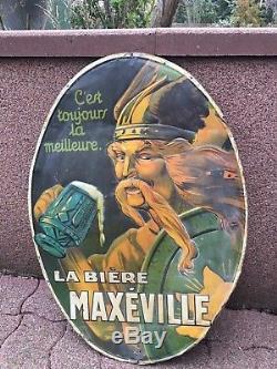 Bière de Maxeville 1920 signée Idoux