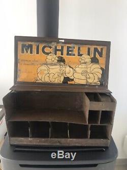 Boite Paradis Michelin, Garage, No Plaque Emaillée