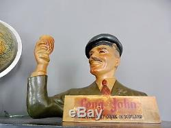 Buste Long John En Latex Scotch Whisky Scotland No Platre