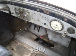 CITROEN 5CV TYPE C PICK UP bidon huile oil can pompe essence pump tanksaule tin