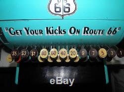 COLLECTOR CAISSE ENREGISTREUSE ROUTE US 66 NATIONAL CASH REGISTER COMPANY PIN UP