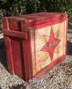 Caisse a bidon d'huile SPIDO