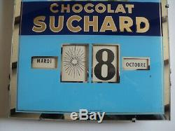 Calendrier perpétuel Gerrer de 1962 Chocolat Suchard Achat immédiat