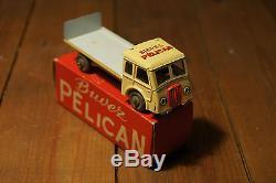 Camion ancien publicitaire biere PELICAN jouet en tole