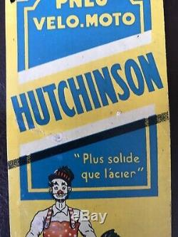 Déco Ancienne Plaque De Propreté Hutchinson Plus Solide Que Lacier Mich