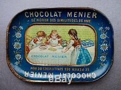 ETAT CONCOURS Coupelle CHOCOLAT MENIER 1900 no plaque émaillée kub maggi boite