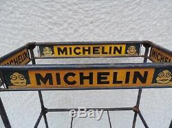 Etagère Présentoir à pneus Michelin Tôle Publicitaire No Emaillée