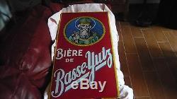 Grande Plaque Emaillee Biere De Basse Yutz Emaillerie De Strasbourg