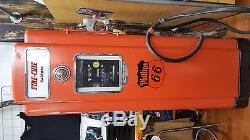 Gas Pump Phillips 66 Gasoline, ensemble d'origine