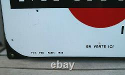 Grand Thermometre Martini L' Apéritif Plaque Emaillée 97 Cm Superbe Etat 1963